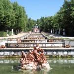 Los jardines del Palacio de La Granja (Segovia) es un lugar de interés cerca de Rascafria