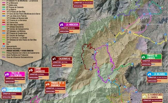 rutas en bicicleta por el Parque Nacional