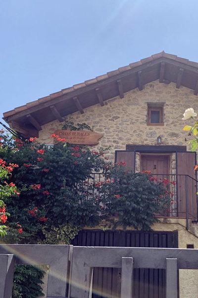Vista exterior de la casa